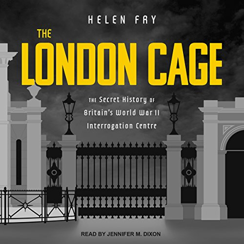 The London Cage audiobook cover art