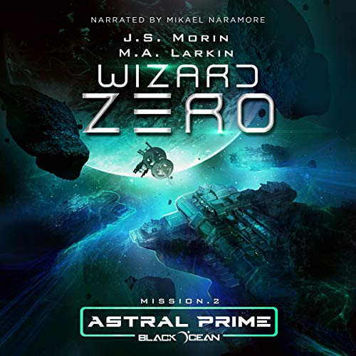 Wizard Zero: Mission 2 audiobook cover art
