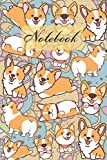 Notebook: Funny Cute Corgi - Dogs Diary / Notes / Track / Log / Journal , Book Gifts For Dad Mom Boys Girls Friends Kids Teens 6x9' 120 Pages