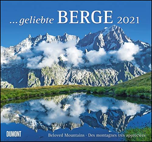 ... geliebte Berge 2021 - DUMONT Wandkalender - mit den wichtigsten Feiertagen - Format 38,0 x 35,5 cm