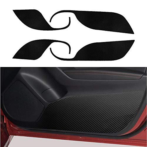 ドアキックガード マツダ アクセラ 2013~2021 専用ドアトリムカバー ドアガードステッカー ドアプロテクトシート
