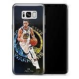 RunWen Funda Samsung Galaxy S8 Plus Case,Pattern M152 Gray White Marble Transparent Clear Soft Phone Case For Samsung Galaxy S8 Plus
