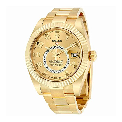 Rolex Sky Dweller Champagne Dial GMT...