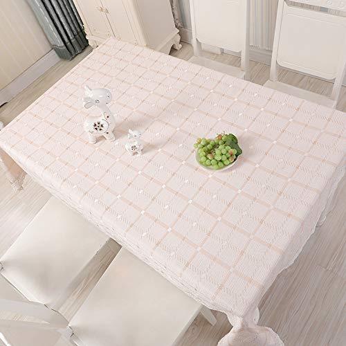 HEZESHOP Mantel al Aire Libre Mantel de Estilo nórdico Simple Impermeable Restaurante Hotel Hogar Mantel 140X200cm