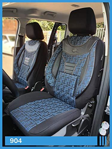 Fundas de asiento compatibles con Audi A4 B9, conductor y pasajero a partir de 2015, número de color: 904.