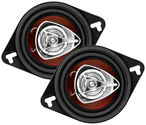 BOSS Audio Systems CH4330 Car Speakers - 400 Watts of Power Per Pair and 200 Watts Each, 4 x 10 Inch, Full Range, 3 Way, Sold in Pairs, Easy Mounting