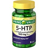 ONLY 1 IN PACK Spring Valley 5-HTP/ L-5- Hydroxitryptophan, 100 mg, Mood Health, 30 Caplets