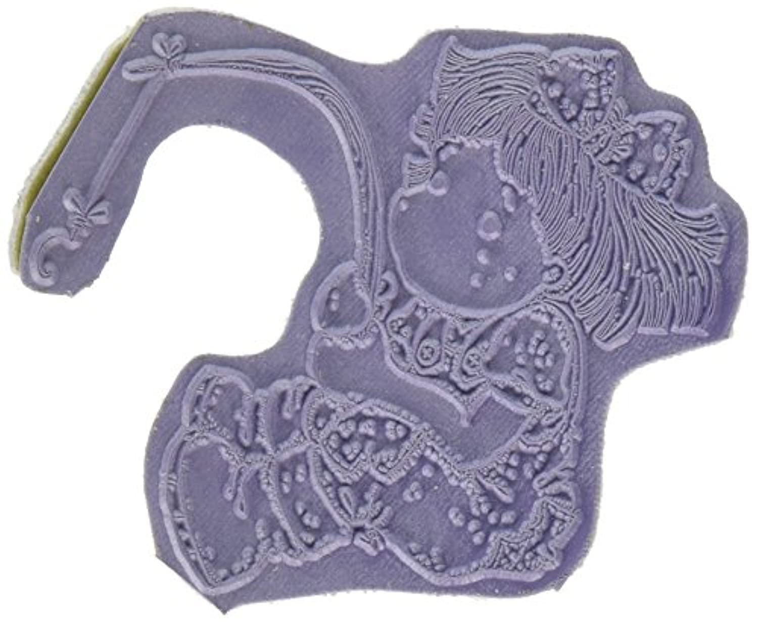 Magnolia Summer Memories Cling Stamp, 6.5 by 4-Inch, Hooked Tilda