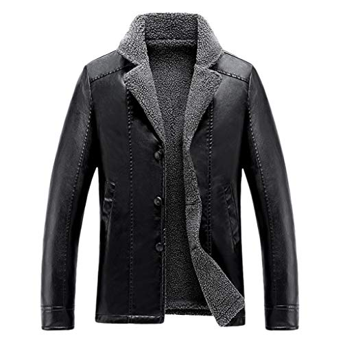 Men's Winter Jacket Leather