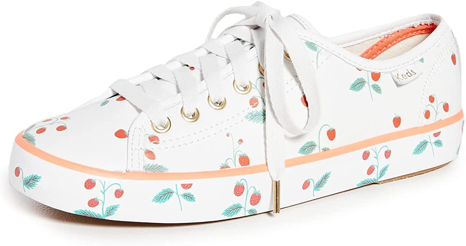 Keds Women's Limited Special Price x Rifle Paper Sneakers Co. Kickstart Strawberries Max 49% OFF