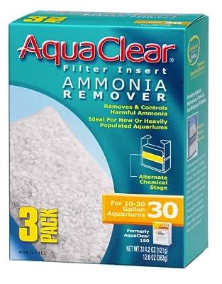 Aquaclear 30-Gallon Ammonia Remover, 3-Pack