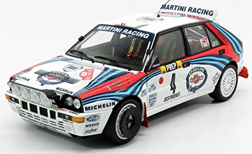 ミニカー 1/18 ランチア デルタ 京商 KYOSHO LANCIA DELTA HF INTEGRALE EVOLUZIONE MARTINI WHITE BLUE RE...