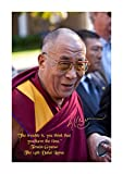 Engravia Digital Dalai Lama quote (1) Poster Signed Autograph Reproduction Photo A4 Print(Unframed)