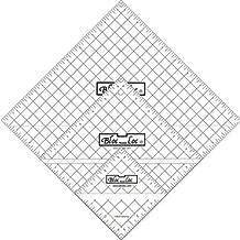 Bloc Loc~Half Square Triangle Ruler Set #7~3.5