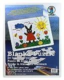 Ursus 8260000 - Blanko-Puzzle mit Legerahmen, ca. 29 x 37 cm, 72-teilig