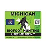 ION Graphics Michigan Bigfoot Hunting Permit...