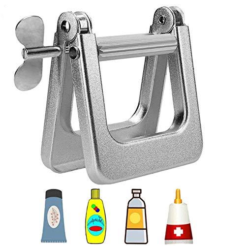 Exprimidor de Pasta de Dientes Tubo metálico Apretador de pasta de dientes crema pegamento pintura alimentos Exprime tubo