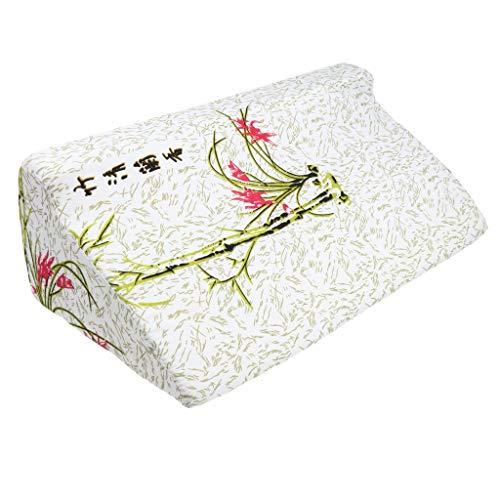 Foam Bed wigkussen voor slapen, rug of been hoogte kussen voor zure Reflux, snurken en brandend maagzuur