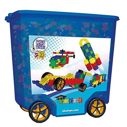 CLICS Rollerbox 45 in 1 mit 700 Teilen und extra Reifen - CB753