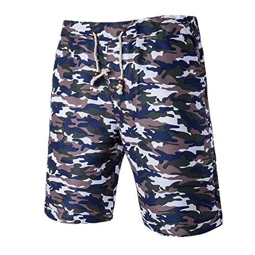 N\P Pantalones deportivos transpirables para hombre, diseño de camuflaje