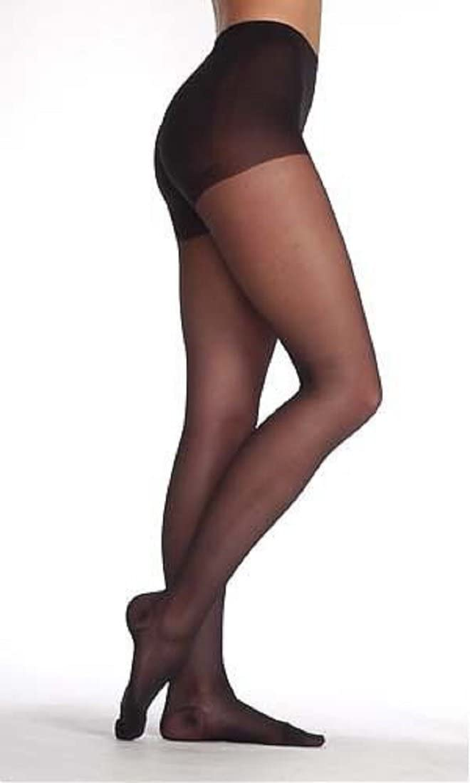 Juzo Sheer 5070 OTC French Cut Pantyhose 10-15mmHg Color: 57-Cinnammon, Size: D
