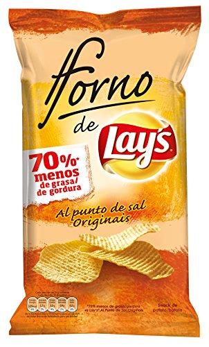 Lay's - Al Horno - Patata Horneada con Sal - 150 g - [pack de 3]