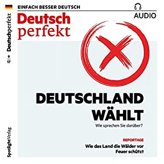 Deutsch perfekt Audio. 9/2017 Titelbild