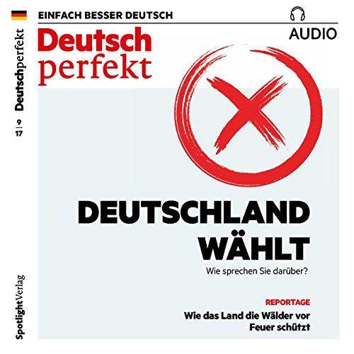 Deutsch perfekt Audio. 9/2017 Titelbild