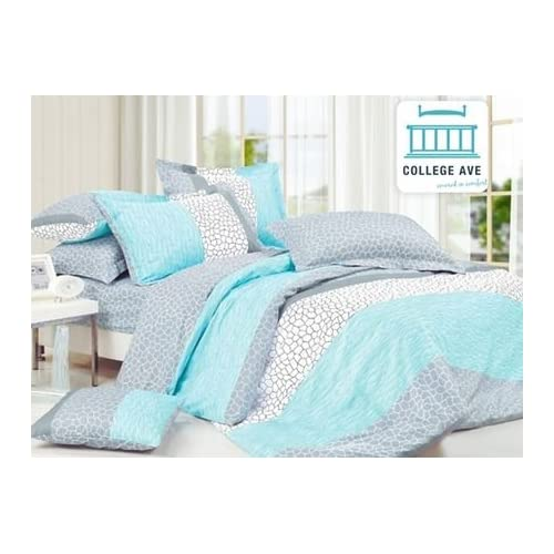 Amazon Com Dove Aqua Comforter Twin Xl Twin Extra Long Home
