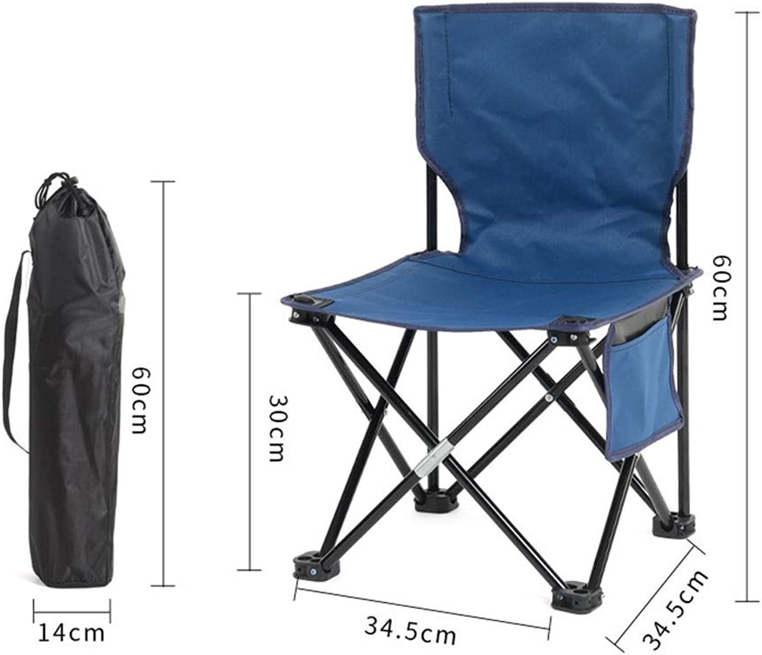 Camping Chair Folding Chair Folding Camping Chairs Ultralight Fishing Chair Moonchair Camping Stool with Backrest Carrying Bag for Fishing Hiking Picnic Fishing Chair Folding Garden Chair