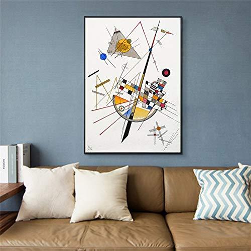 wopiaol Sin Marco Pintura de Lienzo de Pared Tensión Delicada Impresiones de Arte Abstracto y Carteles Imágenes para la decoración de la Sala de Estar