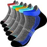 Newdora Socken für Herren Damen Kurze Halbsocken Baumwolle Trekkingsocken Atmungsaktiv Socken Hochleistung für Fitness,Joggen und Zuhause (43-46, x_l)
