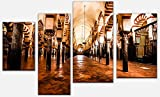 wandmotiv24 Cuadro en Lienzo La Gran Mezquita, Córdoba, España Versión 3-180 x 115cm multiparte, Foto Lienzo, Mural M0814