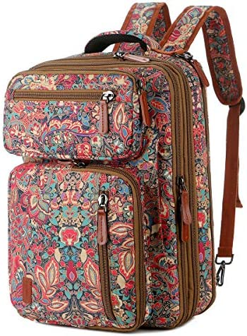 BAOSHA Convertible Backpack 15 6 Inch Laptop Bag Case Travel Briefcase Casual School college product image