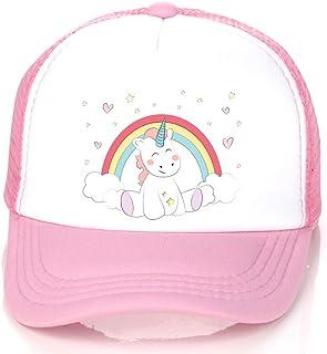 Unicorn Trucker Hat, Kids Baseball Hat Cap for Girls Boys...