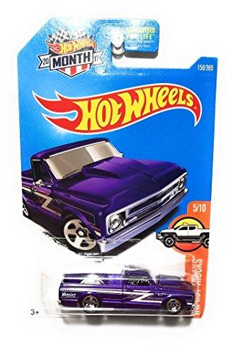 Hot Wheels 2017 HW Hot Trucks '67 Chevy C10 Hoosier 158/365, Purple