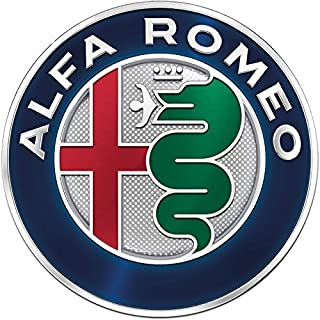 Emblem für Motorhaube, 74 mm 145 146 147 156 159 Giulietta Mito