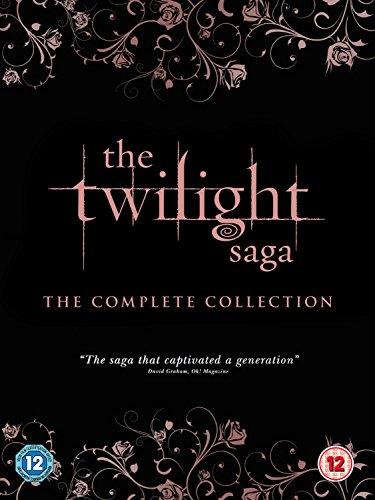 The Twilight Saga - Complete Collection (5 Dvd) [Edizione: Regno Unito] [Edizione: Regno Unito]
