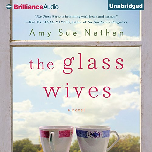 The Glass Wives audiobook cover art