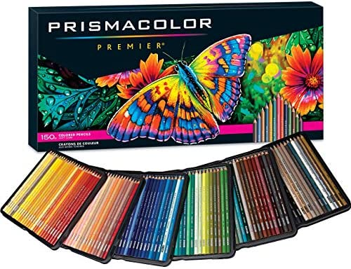 Prismacolor Premier Colored Pencils | Art Supplies for Drawing, Sketching, Adult Coloring | Soft Core Color Pencils, 150 Pack