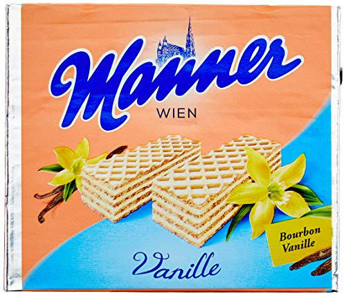 Manner Vanille Schnitten, 12er Pack (12 x 75 g)