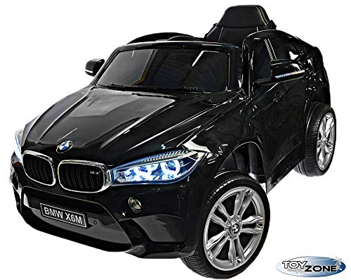 RC Auto kaufen Kinderauto Bild 6: ToyZone Kinderfahrzeug BMW X6M 12V Kinder Elektro Auto Kinderauto MP3 USB Ledersitz Eva*