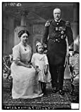 Historic Photographs, LLC Foto: Royal Family Holland,Juliana,Henry de Mecklenburg,Wilhelmina de Países Bajos