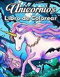 Unicornios Libro de Colorear para Adultos: Divertido y hermoso libro para colorear de unicornios para adultos y adolescentes con flores y mandala para relajarse y aliviar el estrés !