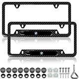 YIDEXIN 2Pcs License Plate Frames for BMW...