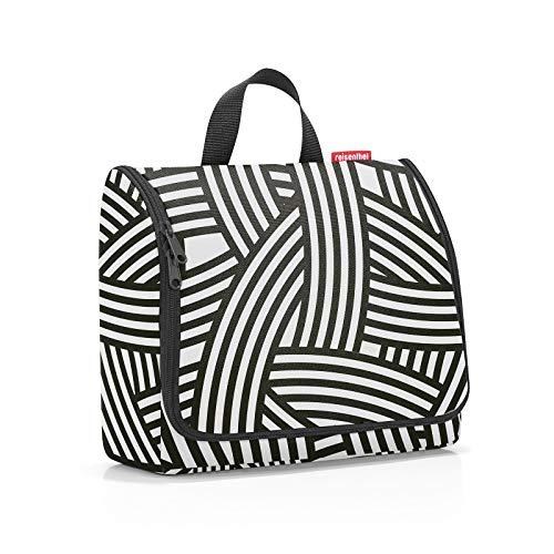 reisenthel toiletbag Accessoire de Voyage - Trousse de Maquillage XL Noir Et Blanc