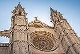 HQHff Edificio de Arquitectura gtica de la Edad Media,Puzzles 150 Piezas,3D DIY Puzzles de Madera Adultos Regalo de Juguete Educativo para nios;15x10cm