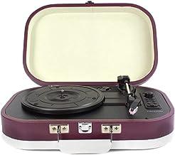 PRIXTON - Tocadiscos de Vinilos Vintage y Reproductor mp3 de