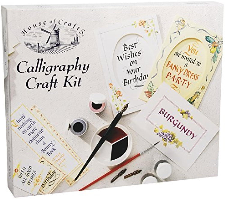 aquí tiene la última House of Crafts Calligraphy Craft Craft Craft Kit by House of Crafts  bajo precio
