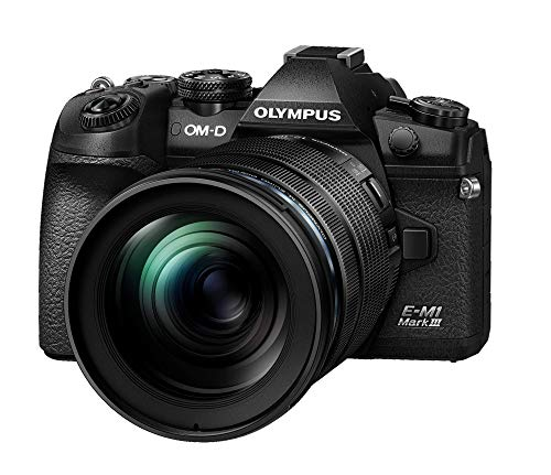 Olympus OM-D E-M1 Mark III Black Camera Body with M.Zuiko Digital ED 12-100mm F4.0 IS PRO Lens
